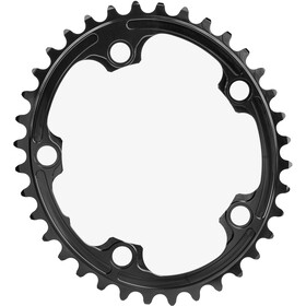 absoluteBLACK Road Oval Chainring 2-speed 110BCD black